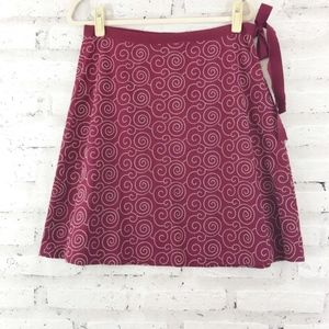 💥 J. Crew Embroidered Side Tie Skirt